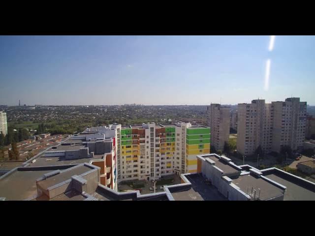Салтовка Харьков Украина Снято на дрон\квадрокоптер Yuneec Typhoon Q500 4K