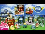 Свинка Пэппа Peppa Pig Открывает большие яйца с сюрпризом Робокар Поли и Рой