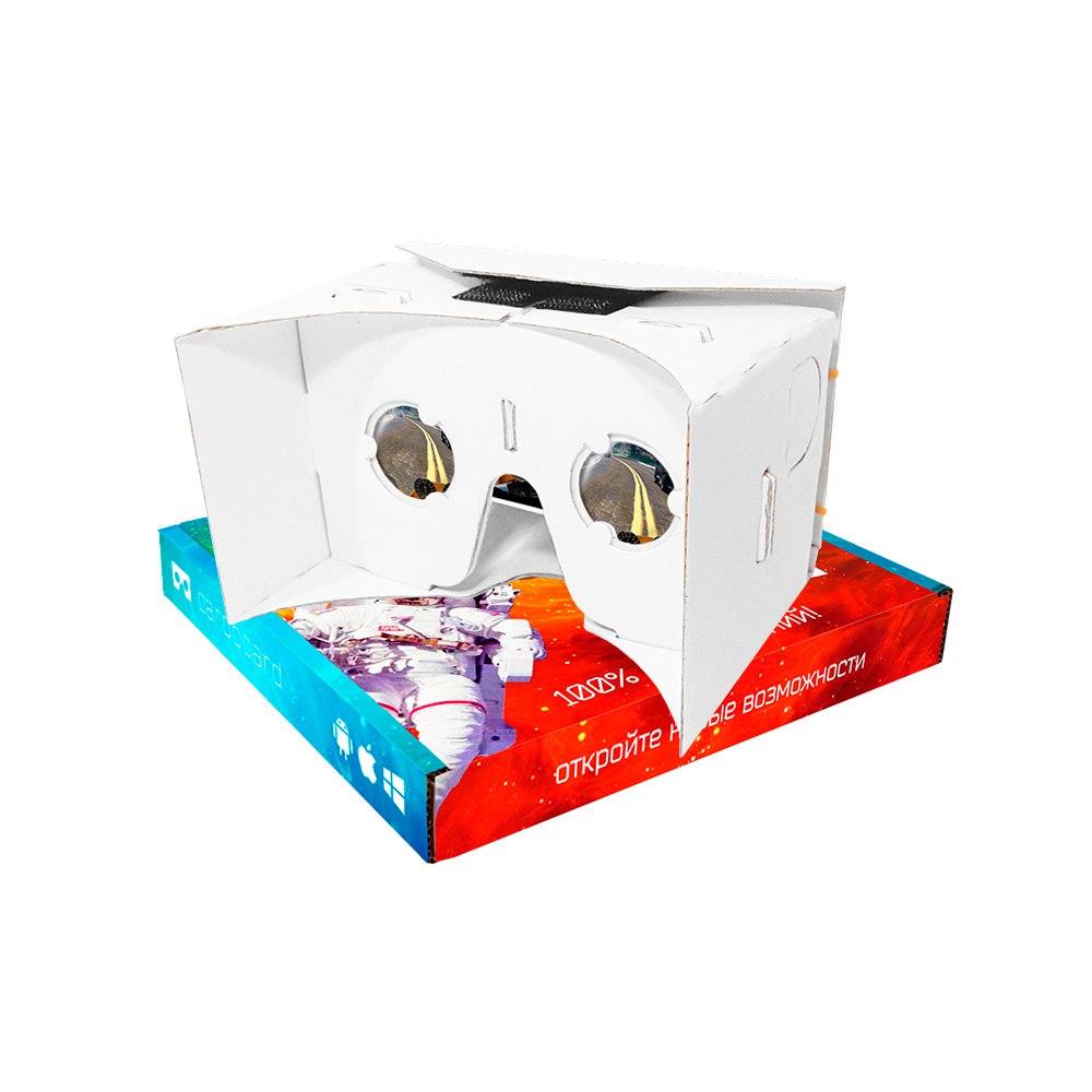 Как сделать очки виртуальной реальности из картона без линз