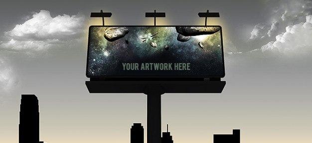 3 шаблона с билбордами.