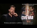 Интервью Криса для «ScreenSlam» (Rus Sub)