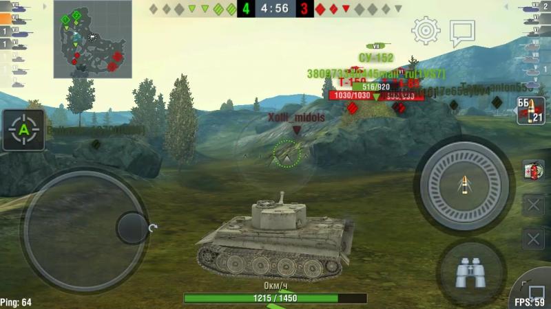 World of Tanks Blitz (Tiger  ) Blitztime