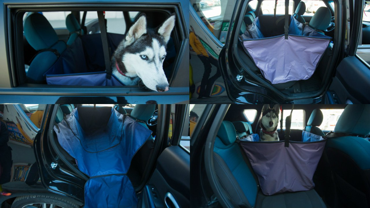 Автогамаки для поездок с собаками в наличии