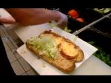 Превосходный сэндвич в Сабвей Subway in USA