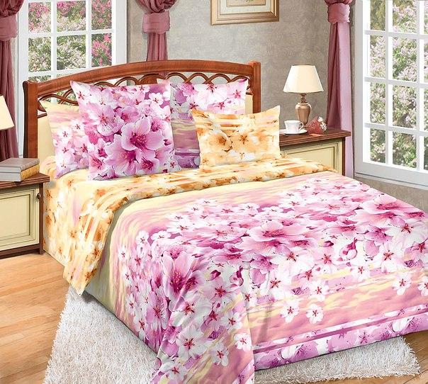 ткань сатин для постельного белья купить мелким оптом