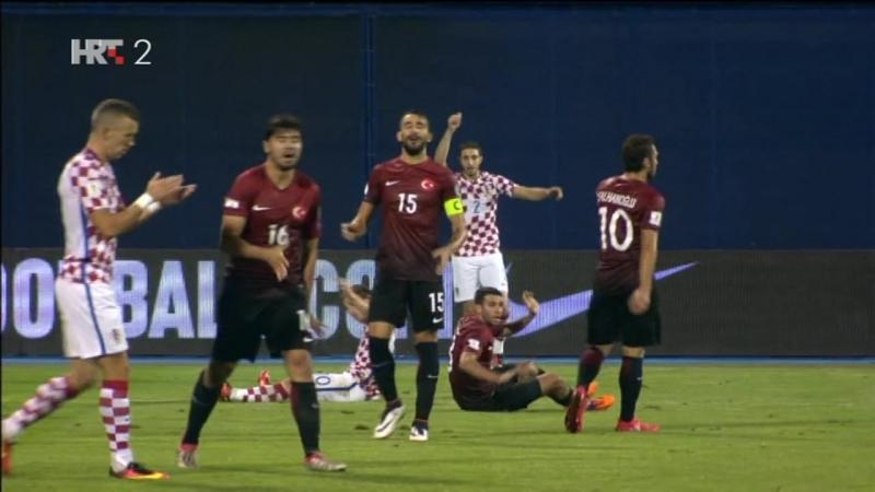 Hrvatska - Turska 1-1, Oko sokolovo, golovi, 05.09.2016. HD