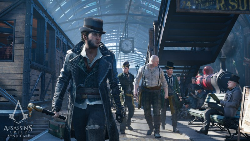 Assassin's Creed: Syndicate (2015)+ DLC (RUS|ENG) скачать торрент
