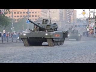 Генеральная Репетиция Парада Победы 2016 Полная версия прохождения боевой техники от начала до конца. (7 МАЯ 2016)