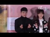 160126 EXO DO @ Pure Love Press Premiere [TD영상] 순정 도경수, 우산 키스신 질문에 진지하게 해서 편했다