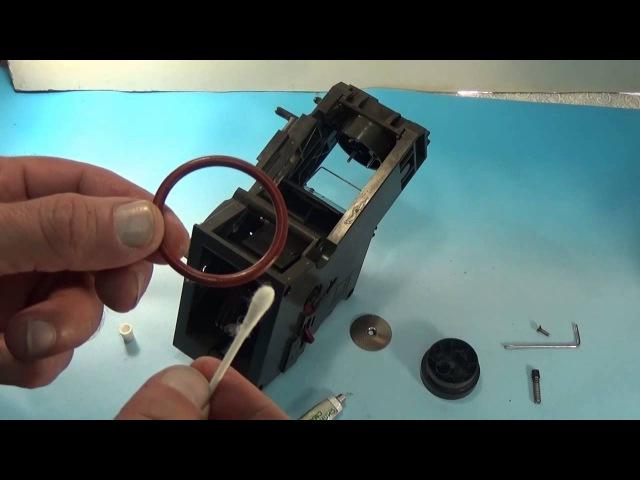 Bosch CTES30 как избежать ремонта в кофемашине чистка