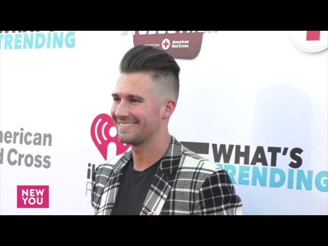 James Maslow at the What's Trending's Fourth Annual Tubeathon Benefiting American Red Cross