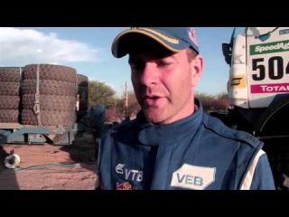 Команда «КАМАЗ-мастер / KAMAZ-master» на Ралли Дакар / Rally Dakar 2016 − 11 января