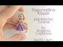 Tutorial angenioso - Creare una Rapunzellina kawaii in fimo - livello super base - parte 1