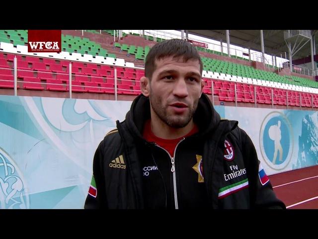 Шамиль Завуров готовится к Grand Prix Akhmat 2016