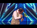 America's Got Talent S09E06 Joe the Birdman Tika Talking Bird Act