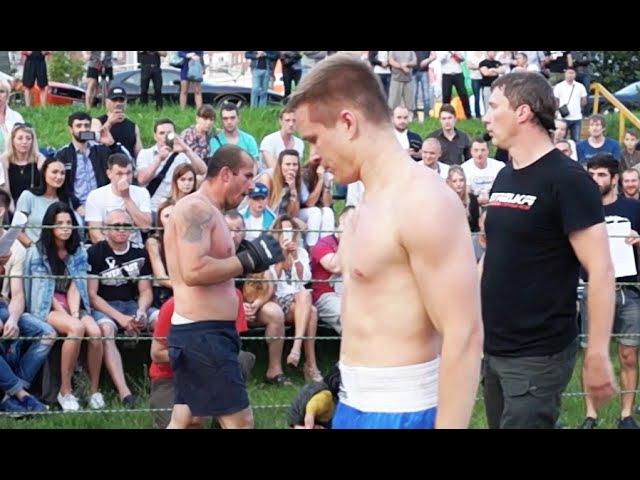 Боксер против Борца. Зрелищный бой!