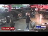 Появилось видео перестрелки из-за места на парковке в Петербурге