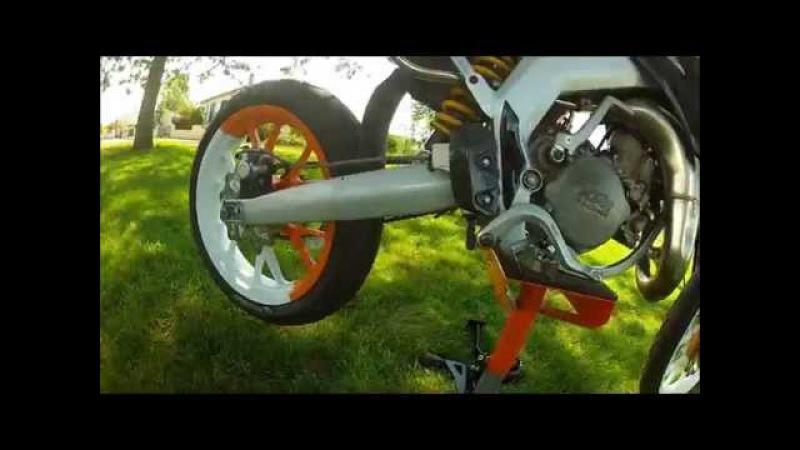 Derbi senda moteur KTM 85 SX (n°2)
