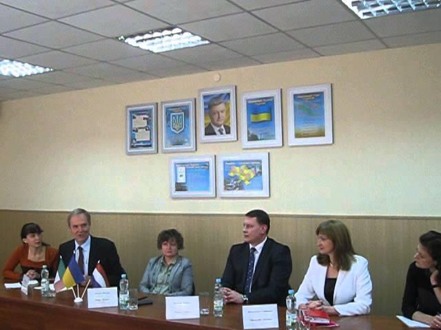 Беренд де Гроот дає поради щодо реалізації проекту допомоги ЄС Краматорську (Україна)