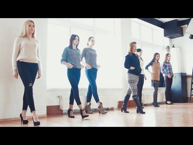 Дефиле Занятие в школе моделей Модельное агентство A Elita Models