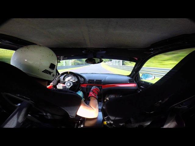 M3 E46 vs M5 E34 Nurburgring Edition @ Nordschleife 09.08.2014 TF !