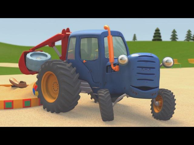 Развивающие мультики про машинки | Синий Трактор Гоша | Большой грузовик на игро ...