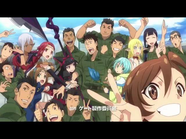 Gate: Jieitai Kanochi nite, Kaku Tatakaeri Season 2 OP | Opening [ GATE(ゲート)自衛隊 彼の地にて、斯く戦えり「炎龍
