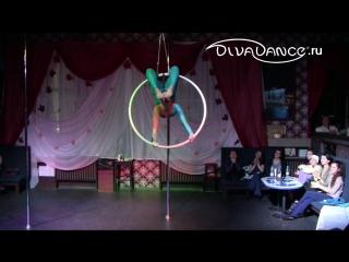 Сон русалочки  воздушное кольцо  - детский номер -  школа танца Divadance