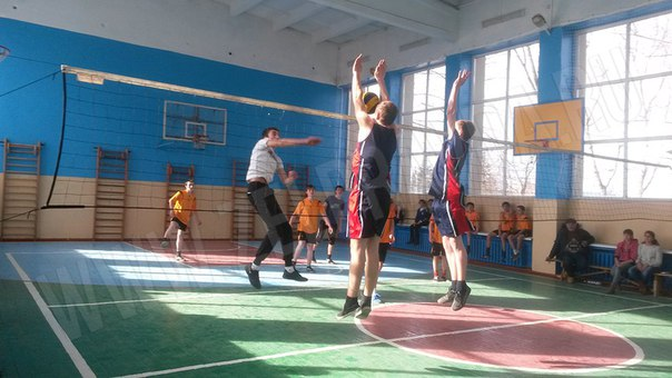 В станице Зеленчукской прошло Первенство района по волейболу