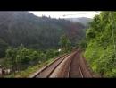 Fuhrerstandsmitfahrt KBS 705 23 Mosbach-Neckarelz - Hirschhorn Neckar