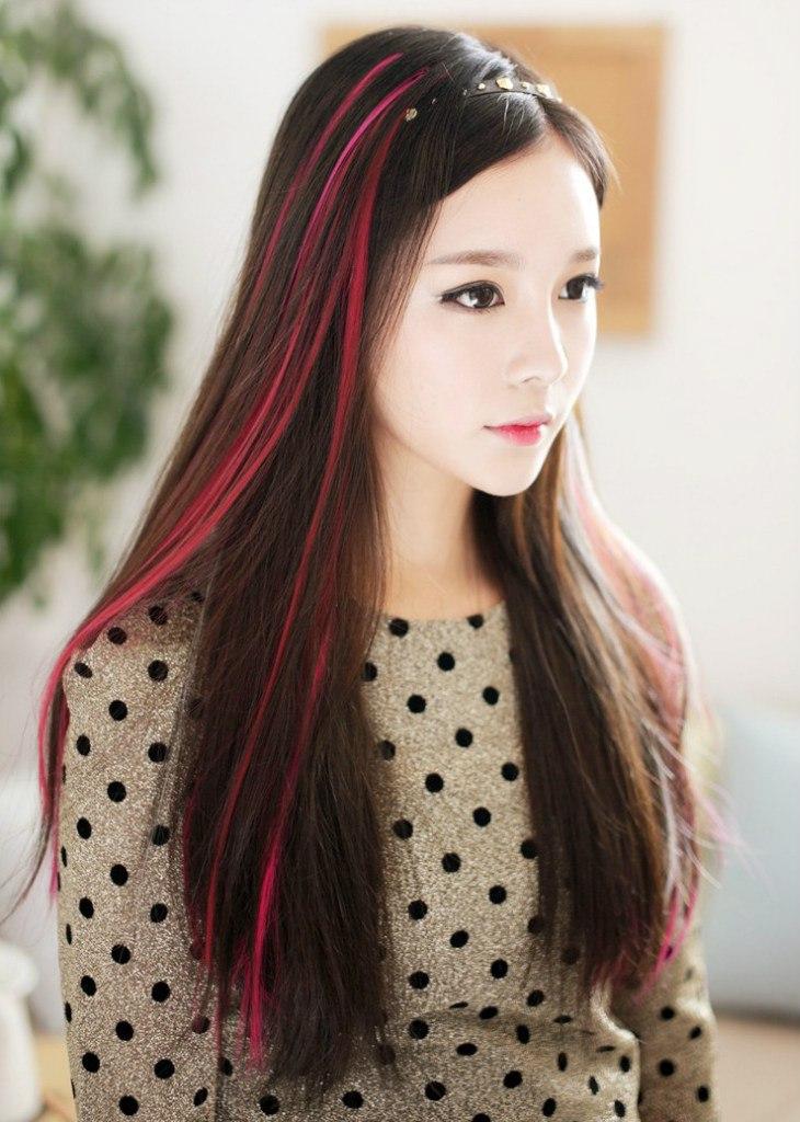 Фото китаянок с русыми волосами — 14