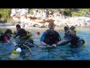 Обучение детей курс Open Water Diver  в Греции