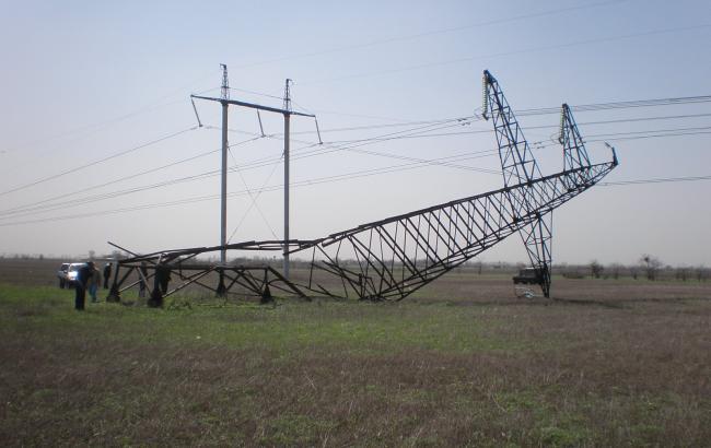 ФСБ возбудила дело о диверсии в связи с подрывом ЛЭП, снабжавших электроэнергией Крым