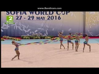 Сборная Россия - 5 лент (многоборье) // Кубок Мира София 2016