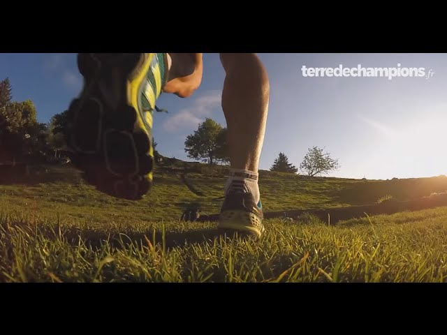 Run au col vert avec Simon Fourcade - terredechampions.fr