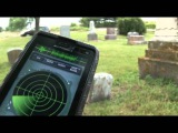 HOW TO USE GHOST RADAR IN A  CEMETERY !