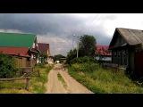 Смерч (Торнадо) над рекой Волгой близ города Козьмодемьянска ( Республика Марий Эл)