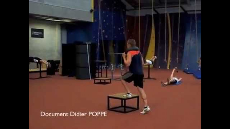 SHOT PUT Conditioning Part 1 The Legs by Didier POPPE .m4v