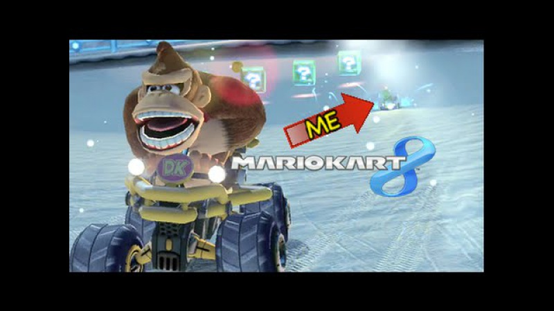 I CAN'T STAND THIS DUDE! [MARIO KART 8]