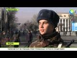 Почти 300 новобранцев будут охранять первых лиц Казахстана