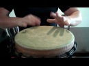 Remo Klong Yaw Djembe: Messin around with two drums