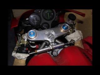 Забытый владельцем мотоцикл Ducati 996R простоял более 10 лет в заводском боксе