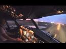 Взлет самолета, вид из кабины!
