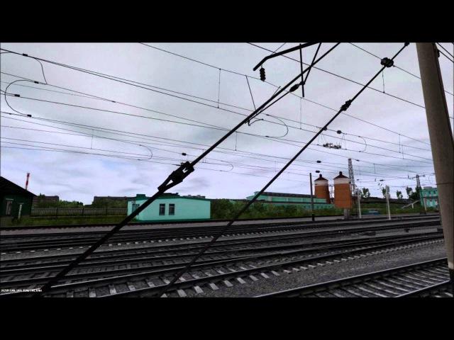 Подъезжаем к станции Татарская (TS12)