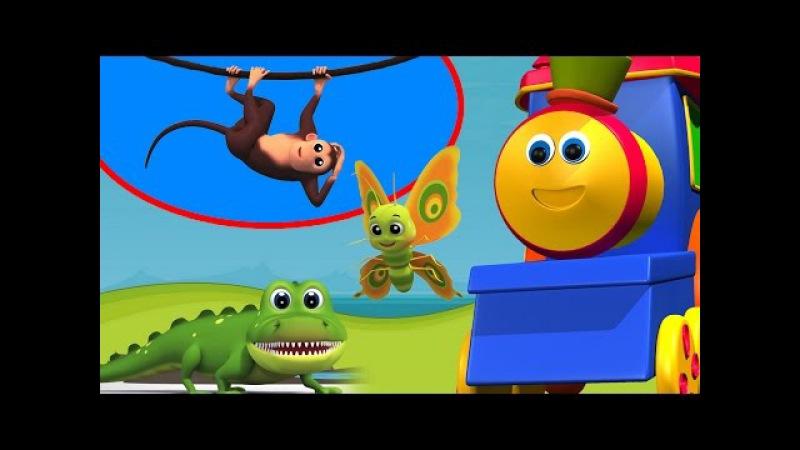 Боб животных ABC песни | Боб компиляции Видео для детей