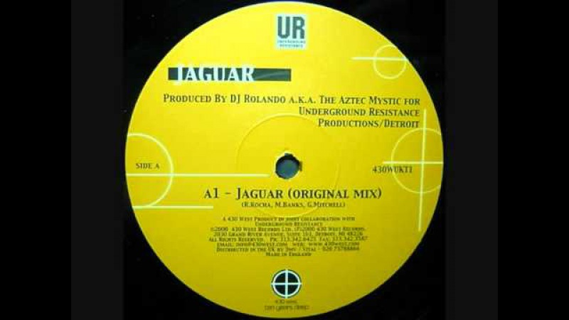 Dj Rolando - Jaguar (Original mix)