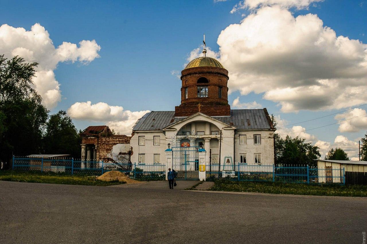 Преображенская церковь в Александровске