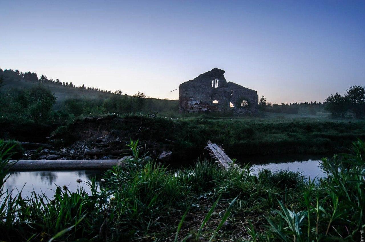 Руины химического завода Саввы Морозова