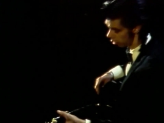 Nick Cave and the Bad Seeds - The Singer (1986, Johnny Cash / Charlie Daniels cover)