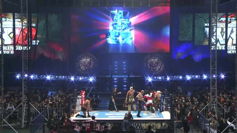 Wrestling Home NJРW Wrеstlе Kingdоm 10 in Tоkyo Dоmе Pre Show